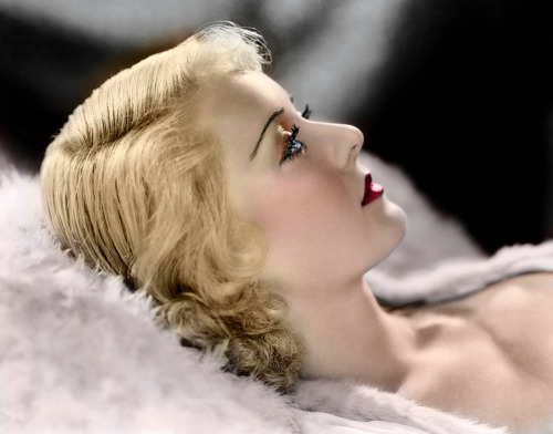 I tried colorizing another photo, this time of Bette Davis. Any thoughts?