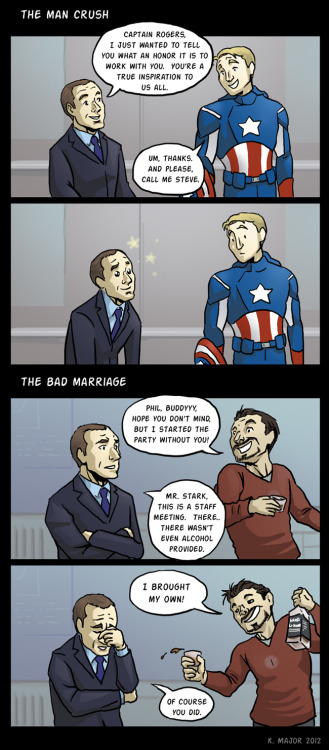 lightshifter42:  The Avenger Relationships of Agent Coulson by ~kmajor