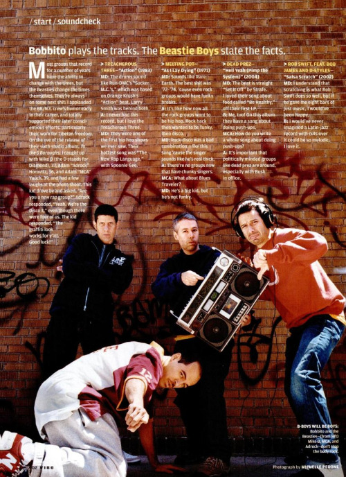 upnorthtrips:  Bobbito plays the tracks. The Beastie Boys state the facts.
