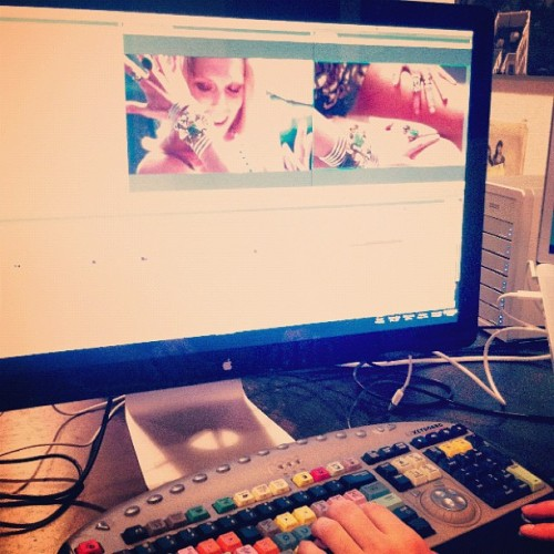 #dannijo video edit time @wolfyrichards #FW12 (Taken with instagram)