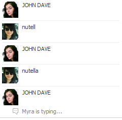 classy facebook conversations with myra