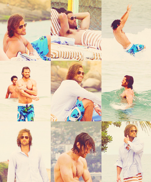 When Moose Go to the Beach, starring Jared Moosealecki Padalecki