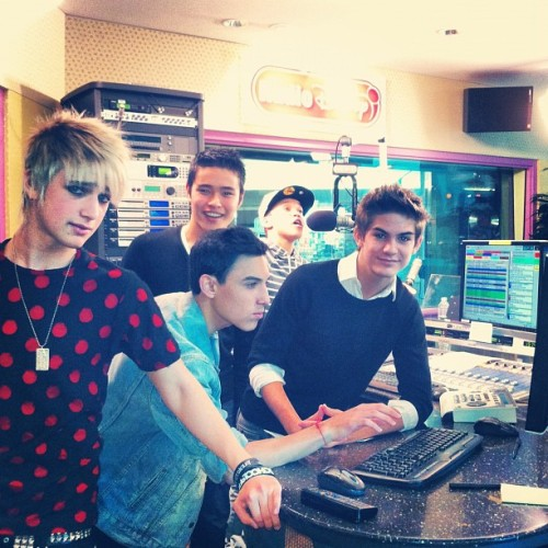 chillin at the radio disney