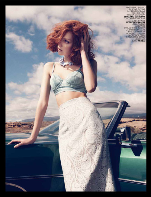 """Hotel California"" (+)  Marie Claire Italia, May 2012  photographer: Paul Schmidt  Heather Marks"