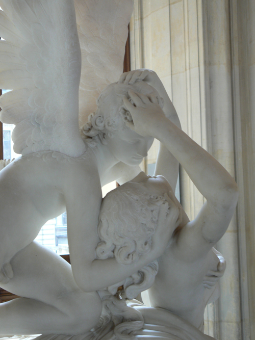 Psyche revived by Cupid's kiss by Antonio Cánova