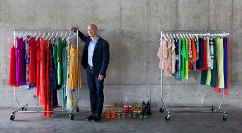 "NYT: Amazon Plans Its Next Conquest: Your Closet Amazon's getting serious about apparel, but it means stepping into a particularly dangerous minefield. Their focus has been price - offering commodity products for less than their competitors. The fashion business is distinctly uncomfortable with that prospect.They want fancy presentation and pricing that preserves their mystique (and margins). Still, this is big news for consumers. I had no idea, for example, that if I type ""Jack Spade"" into the Amazon search bar, I'll find hundreds of products. Their flash sale offering, MyHabit, is catching up to industry leader (and category creator) Gilt Groupe, as well. Today, for example, it's offering sales on Gant Rugger and Luciano Barbera. We'll see where it's heading, but it's tough to see it breaking bad for those of us who like to shop online."