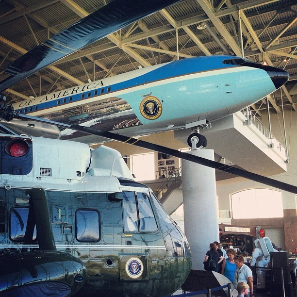 Visited the Ronald Reagan Presidential Library today and the Air Force One Pavilion was worth the price of admission.