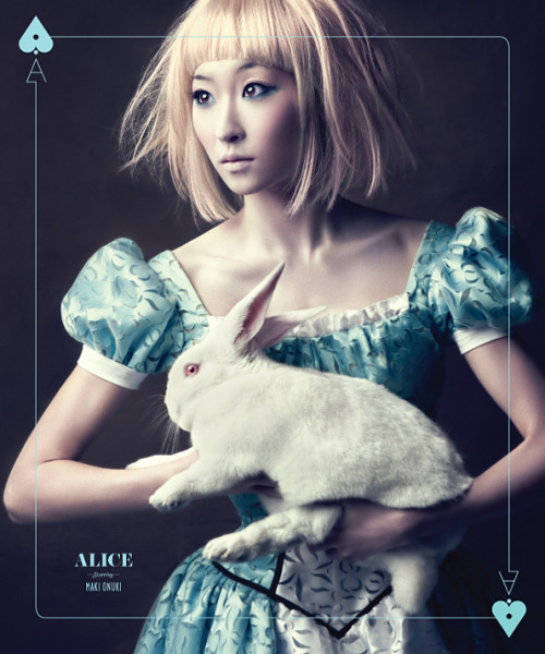 chopa:  Maki Onuki as Alice
