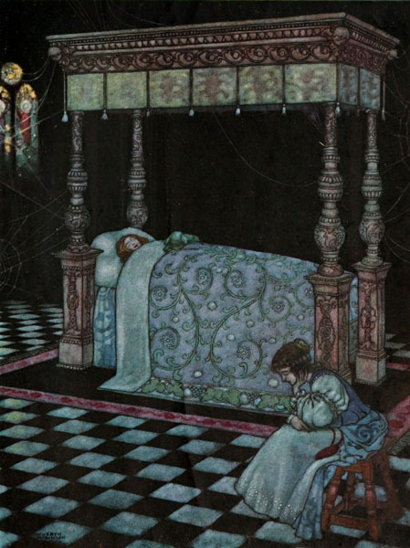 "fairytalemood:   ""The Sleeping Beauty in the Wood"" by W. Heath Robinson"