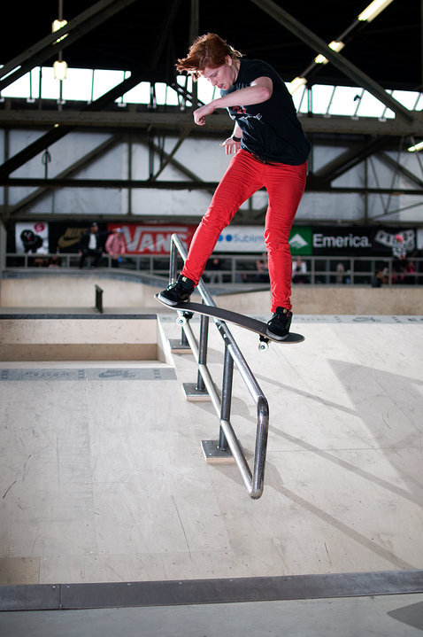 Evelien Bouilliart: Boardslide. @ Girls Sessie . Everland, Amsterdam