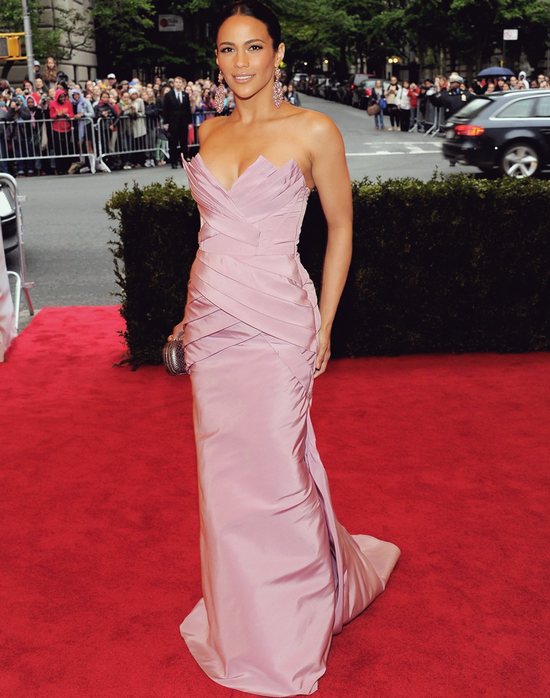 fuckyeahfamousblackgirls:  Actress Paula Patton at the 2012 Met Ball