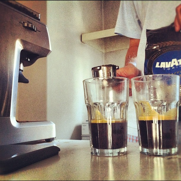 4 Shots in the morning, 'ery morning (Taken with Instagram at Home sweet home)