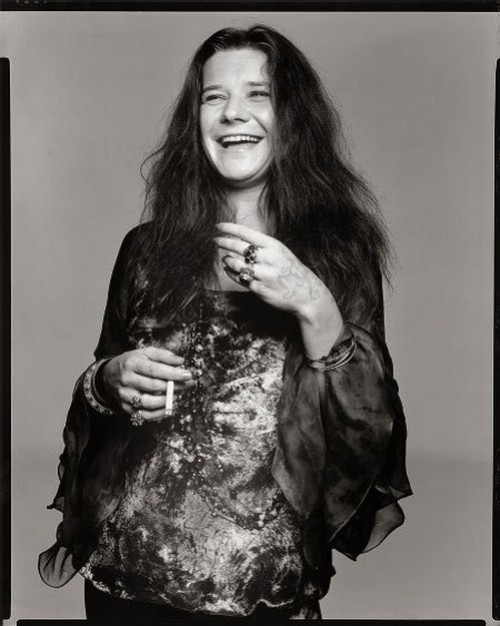 Janis Joplin by Richard Avedon, 1969.
