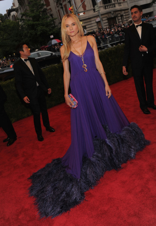 suicideblonde:  Diane Kruger in Prada at the 2012 Met Costume Gala, May 7th MY QUEEN!