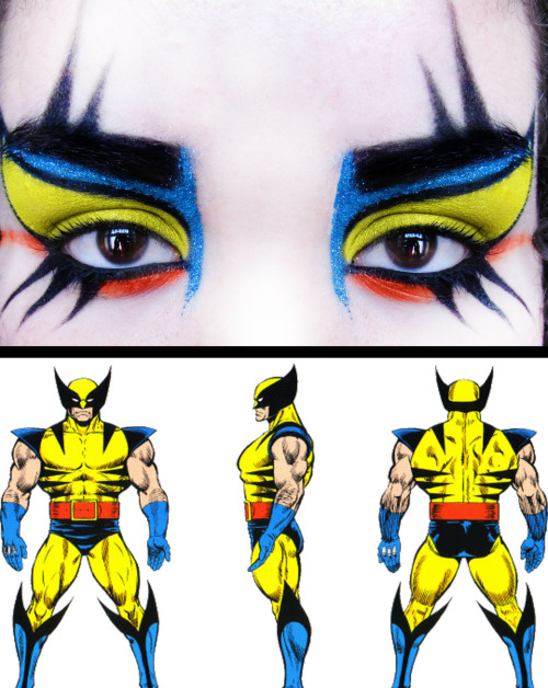 makeupftw:  Wolverine inspired Make-up  by http://nighth4wk.tumblr.com/
