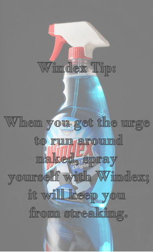 Windex Tips