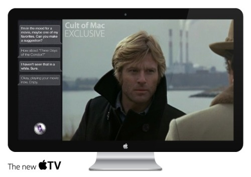 "thebeastfeed:  The Apple Television is real. Cult of Mac reports that it has received information from a ""well-placed"" source who claims to have seen a prototype of the rumored Apple television set. According to the source, the device resembles Apple's current Thunderbolt display but is ""much larger"" than the 27-inch model currently offered."