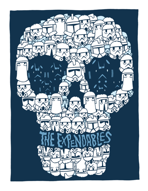 theartofstarwars:  Artwork by Dan Hipp