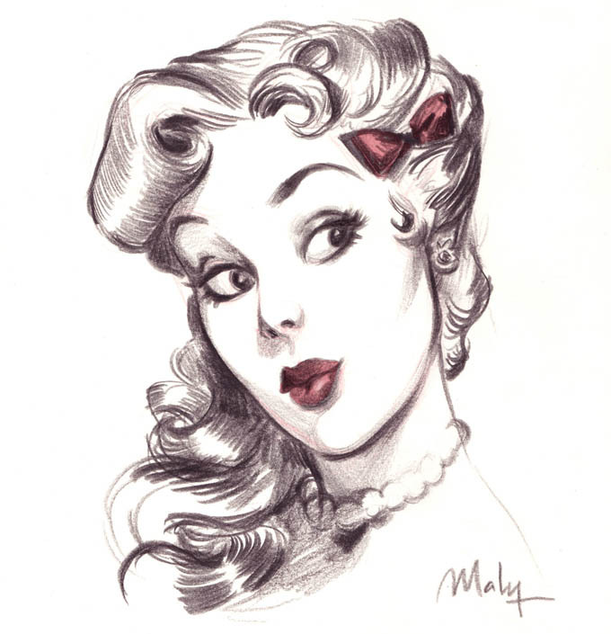 Maly Siri's PIN UP ART