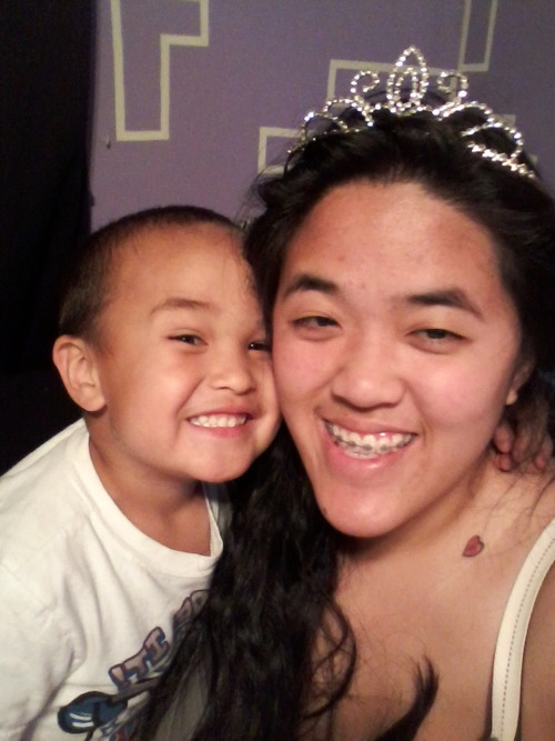 He put a tiara on me and called me a princess.: D