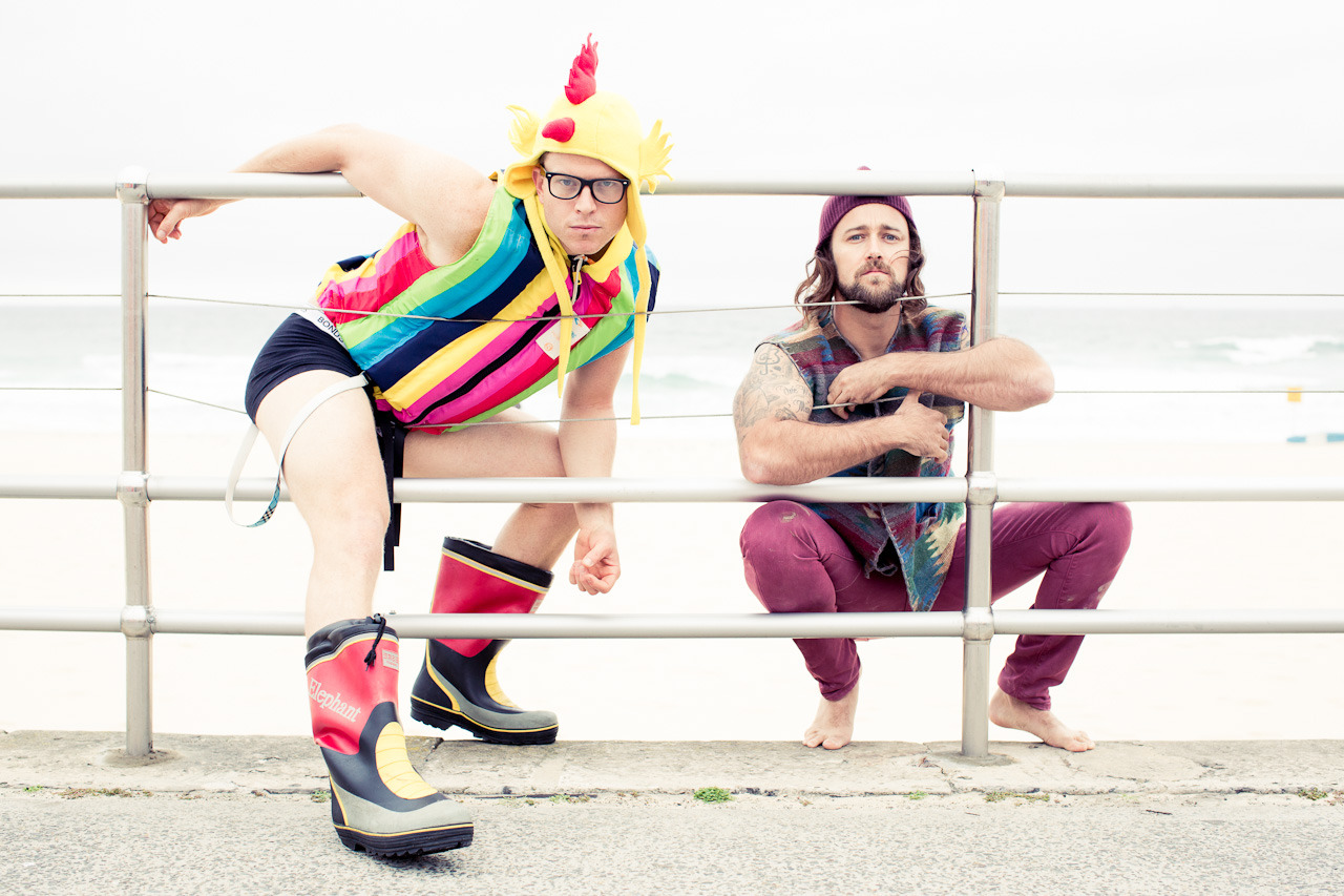 Dom and Adrian aka the Bondi Hipsters for Time Out Sydney.