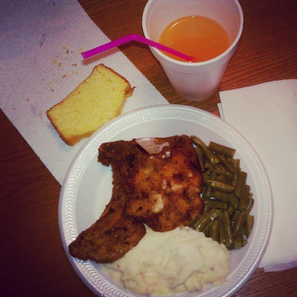Damn I eat good #friendship#loyalty#honesty#love#food#dinner#fullmeal (Taken with instagram)