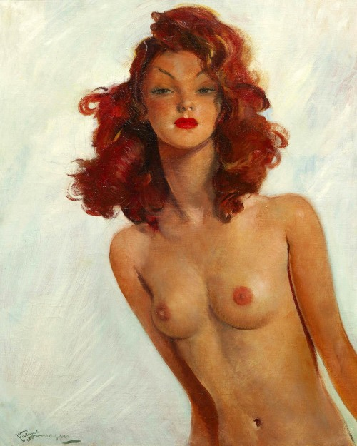 (via Inbetweens: Jean Gabriel Domergue- Granddaddy of All Pinup Artists « AnimationResources.org – Serving the Online Animation Community)  Jean Gabriel Domergue