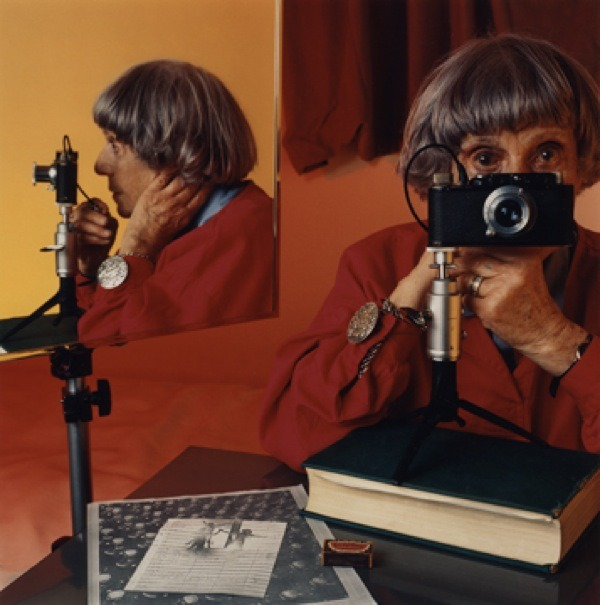 Ilse Bing - Self Portrait, 1986 (colour)