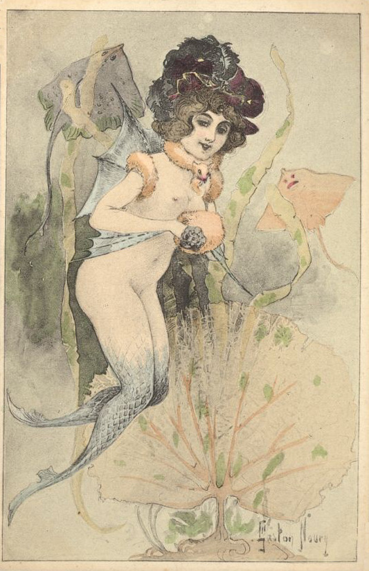 sisterwolf:  Mermaid!  Gaston Noury