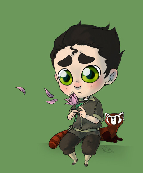 help, drawing sad Bolin is too much fun ; A ;i half assed the shading cause i just dont care anymore ; w ;