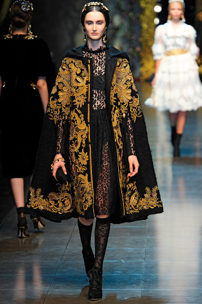 dreams-turned-reality:  Dolce & Gabbana, Fall 2012