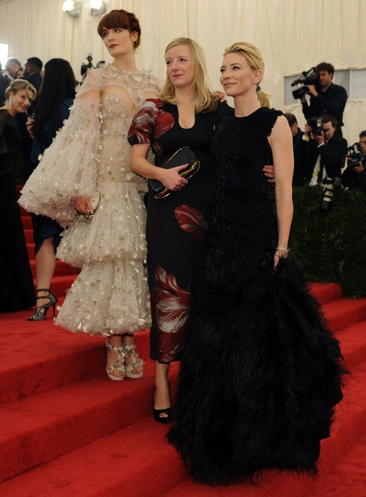 Florence Welch, Sarah Burton & Cate Blanchett - 2012 Met Ball, May 7th 2012