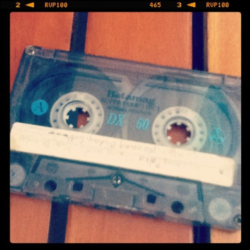 Old school # cassette #music #instadaily #igers #instalove  #lifejournal #beat (Taken with instagram)