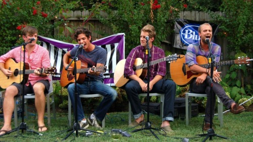 BMI's quarterly East Side Sounds showcase are Dave Barnes, Steve Moakler, Ben Rector, and Andrew Ripp at Rumours East