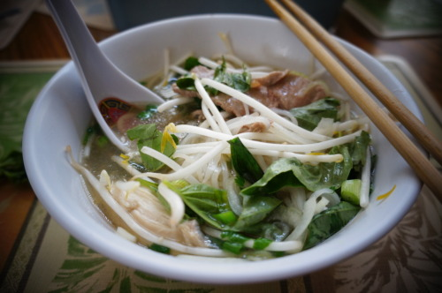 homemade pho :]