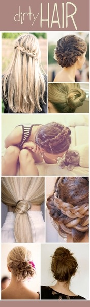 Who Doesn't Adore the Sloppy Bun, Quick Twist , or Fierce Braid!! 😍