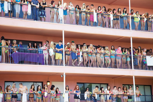 This is from the pool party scene on 3/21, girls are on the middle floor and middle of the picture basically.