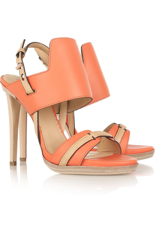 pdubq:  Tuesday Shoesday Reed Krakoff Sandals via Net a Porter.