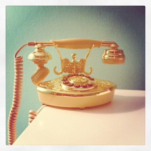 "Our new ""old"" phone. (Taken with Instagram at Hollywood)"