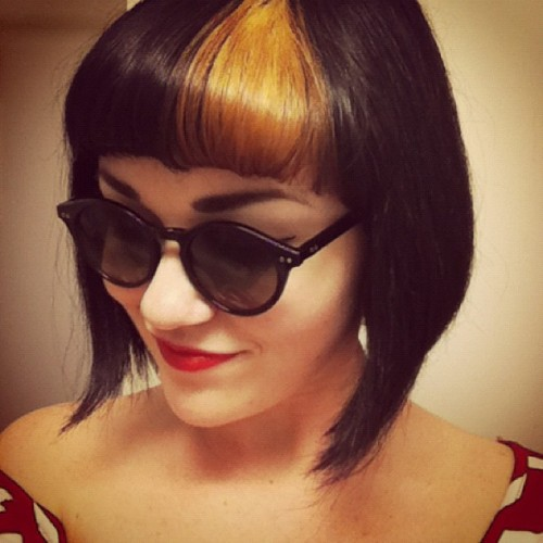 We totally loved this, so rockabilly. What do you think, huh?