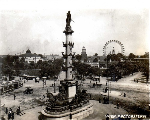 Vienna, the Prater (1900's).