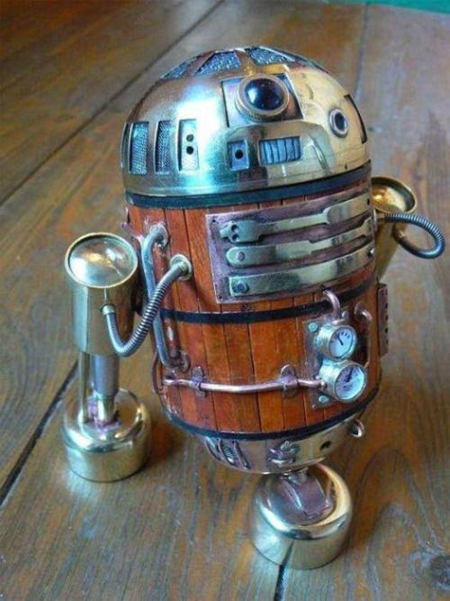 R2D2 if he was in the 'steamship' era…