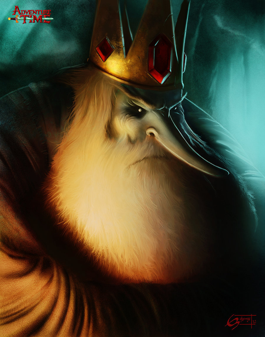 'The Ice King deserves no less :)' Cause Ice King is the best! Thanks Eric Ridgeway for the submission.