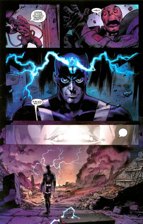 Oh Black Bolt.  So underrated.