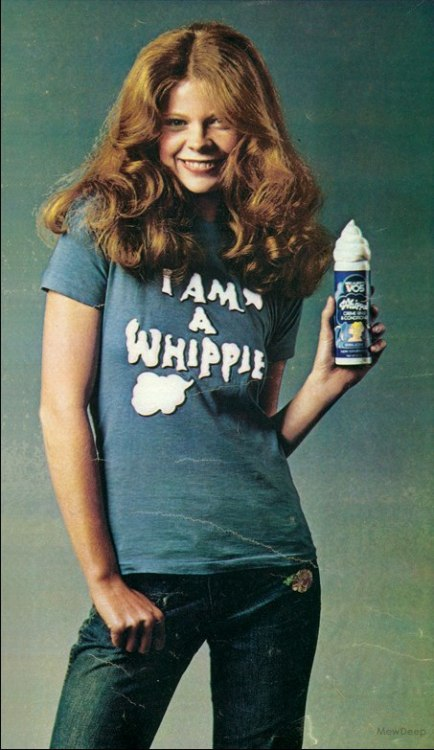 """I Am a Whippie"" T-Shirt Offer, 1974 (by MewDeep  Alberto-Culver of Melrose Park, IL"