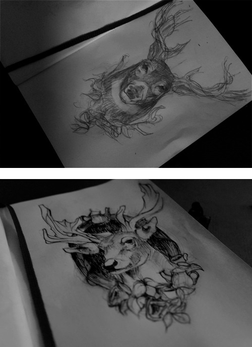 tattoo sketching! Which one do you like the most?