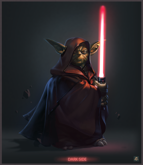 image2comics:  darth yoda by ~Niconoff