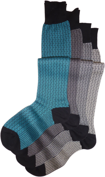 new bi-color heavy cotton socks