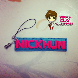 """Yong Clay Accessories"" Nickhun CP Charm for only 90php :) Just click the photo if you're interested. Jinja gomawo! :"") <3"