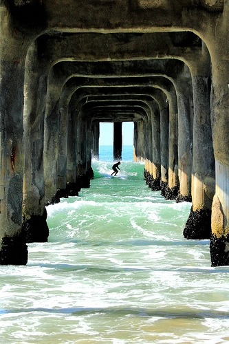 amazing place to surf, ha?